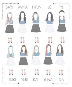 """""""[ I.O.I — Girl Front ] Music Video 