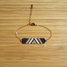 Bracelet Aztek Noir via C'cédille. Click on the image to see more!