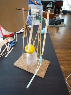 How to make a balloon powered model steam engine.