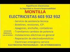 Electricistas MONTILLA 603 932 932 Baratos