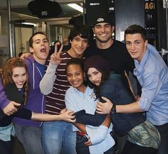 Dylan and Teen Wolf Cast