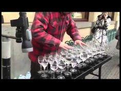 Amazing glass music