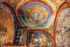 Photo of Anagni Cathedral: Crypt Fresco: Medieval Science