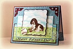 KS Monday - Father's Day card with Pup