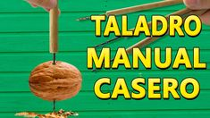 Como Hacer un Taladro Manual Casero (punzón casero )