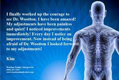 Powerful Testimony! #chiropractic #changinglives #bestjobever #woottonfamilychiropractic #drwootton