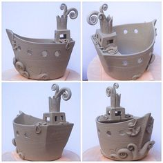 Steamship Yarntasia ….yarn bowl. Once glazed this will be available for sale at…