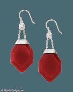 One in a Vermilion Earrings, Earrings - Silpada Designs