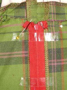 Farbenmix - Reißverschluss verdeckt einnähen