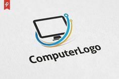 Computer Logo by ft.studio on @creativemarket