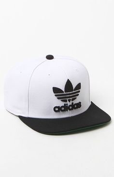 56821976 adidas Originals Thrasher White and Black Snapback Hat at PacSun.com