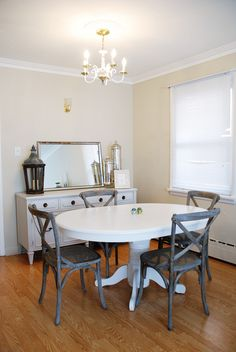 Rambling Renovators: #RockTheRental: Dining & Living Room Progress