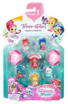 Amazon.com: Fisher-Price Shimmer & Shine Teenie Genies Genie Toy (8 Pack), #4: Toys & Games