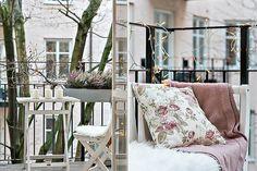 Bilder, Balkong/uteplats, ljusslinga, vinter - Hemnet Inspiration