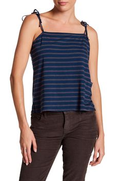 The Knit Tie Cami
