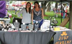 This is Anthony Cornett's photo of a Just Jewelry vendor at the Centralia, Missouri Anchor Fest 2014.
