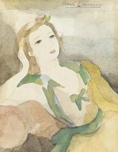 Marie Laurencin, Femme accoudée