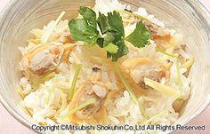 あさりと生姜の炊き込みご飯