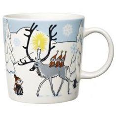 Arabia : Moomin mug Winter Forest 2012