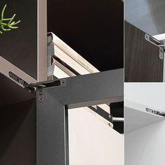 Salice Air -piilosarana on kesän 2016 uutuus. Uudessa designkonseptissa 3 eri säätömahdollisuutta ja sisäänrakennettu hidastin. Avautuu 105°. Lue lisää: www.helakeskus.fi #sarana #salice #uutuus #design #sisustus #moderni #koti #home #decoration#säilytys #kaapisto #yritysmyynti