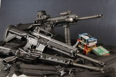 See more at: http://www.all4shooters.com/en/articles/rifles/2012/Heckler-Koch-MR223-assault-rifle/  Heckler & Koch MR223 developed an assault rifle,  the HK416, that could be considered the natural  evolution of the AR15 platform, solving a few shortcomings of its predecessor  with the employment of a piston system