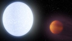 """Astronomers announce the discovery of bloated gas giant KELT-9b, the hottest """"hot Jupiter"""" exoplanet known orbiting a short-lived massive star. The post KELT-9b: Hottest Hot Jupiter Exoplanet Discovered appeared first on Sky & Telescope."""