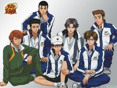 Аниме обои The Prince of Tennis: The National Tournament / Принц тенниса OVA-1 38795