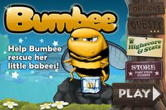Bumbee on App Store:   Bumbee is here & now its up to you to fly her in this never ending adventure! The further you fly the higher you climb the charts  very similar to ...  Developer: Imperial Game Studio  Download at http://ift.tt/1rScLaJ