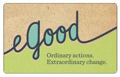 egood Pay It Forward, Company Logo, Logos, Logo