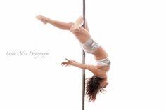 Cross Knee Layback ~ Maria of AVA Fitness, New Westminster, BC, Canada. Photo taken November 2014. #poleographybylynda #polefit #polefitness #poledance #polelove #poleart #polelife #poleography #crosskneelayback