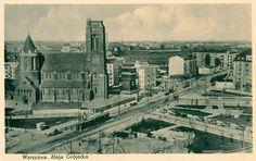 Warszawa przedwojenna - Plac Narutowicza w latach 30.