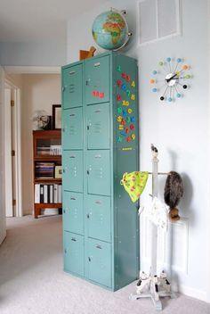 15 propuestas para decorar con armarios metlicos