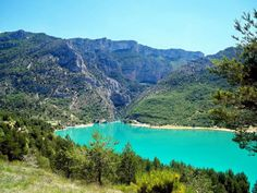 BEST QUOTES ABOUT LOVE- Via 10 Famous Lakes in Europe  Lake of Sainte-Croix  France