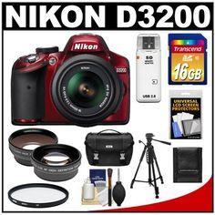 Nikon D3200 Digital SLR Camera ... for only $599.95
