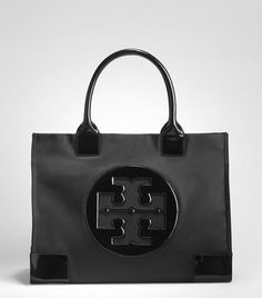 Someone in September may get this as a gift :) ------Nylon Ella Tote | Womens Totes | ToryBurch.com
