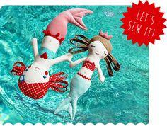 Und wieder ein neues spannendes Kapitel in der revoluzZzionären Nähschule: Die Meerjungfrau Calypso. Meerjungfrauen hatten schon immer eine ganz besondere Anziehungskraft – wer kennt nicht aus Kindertagen die kleine Meerjungfrau, Arielle oder den kleinen Wassermann. Nixen sind rätselhaft und zauberhaft zugleich. Mit dieser ganz neuen Revoluzzzionären Nähanleitung könnt Ihr verschiedene Nixen in unterschiedlichen Variationen und […]