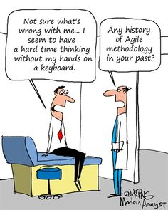 Humor - Cartoon: Hands off the keyboard...