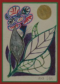 RA Summer Exhibition 2015 work 348 :BLURRY BLOOM by Leonard Manasseh RA, £550.
