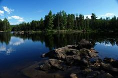 This is a picture of The Boundary Waters in northeastern Minnesota. It is in danger of becoming a site for sulfide mining (Very destructive to the environment/ecosystems). Please help save the Boundary Waters by signing this petition (The link isn't connected to the photo, click the following *It only takes 30 seconds*) ----> http://signon.org/sign/minnesota-policymakers.fb1?source=s.fb&r_by=2746693
