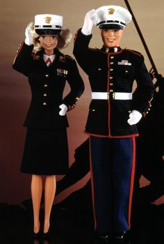 Marine Corps Barbie® Doll and Ken® Doll Deluxe Set