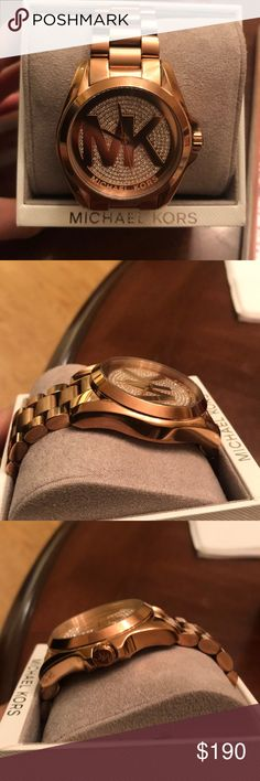 Michael Kors rose gold watch No scratches, worn a few times perfect condition Michael Kors Accessories Watches