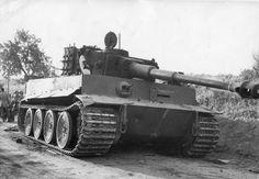 Tiger of SpzAbt 504 Sicily