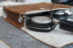 Headphone Sleeve - AUDITION von filzstueck auf DaWanda.com