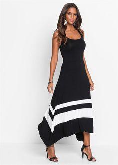 O rochie absolut încântătoare cu croi şic, feminin şi lejer. Model cu partea de fustă largă şi asimetrică şi cu o lungime de cca. 120 cm la măr. 36/38. Flirt, Rock, Dress For You, Short Sleeve Dresses, Stripes, Boutique, Summer Dresses, Elegant, Chic