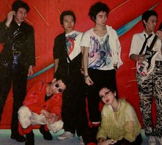 The Plastics wearing various Seditionaries clothing designed by Vivienne Westwood & Malcolm McLaren, 1979