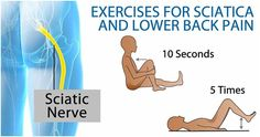 Lower back pain can be eased with this simple #exercises. #Fit #Health #Fitness #Strength #Sciatica   Always ask your doctor before starting any exercise routine.