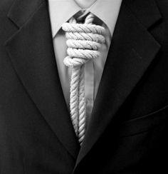¶ Définition de : se mettre la corde au cou