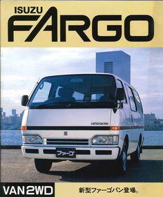 Japanese Brochure ISUZU FARGO VAN2WD Sales Classic Car Catalog Vintage jq98
