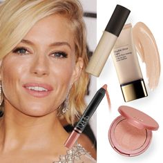 The Golden Globes is always a spectacle for stunning make up looks created by the world's leading makeup artists and this year was no exception. Sienna Miller Golden Globes 2015