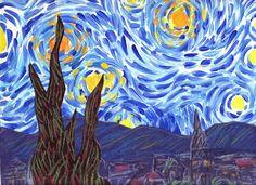 Starry Night Lesson Plan